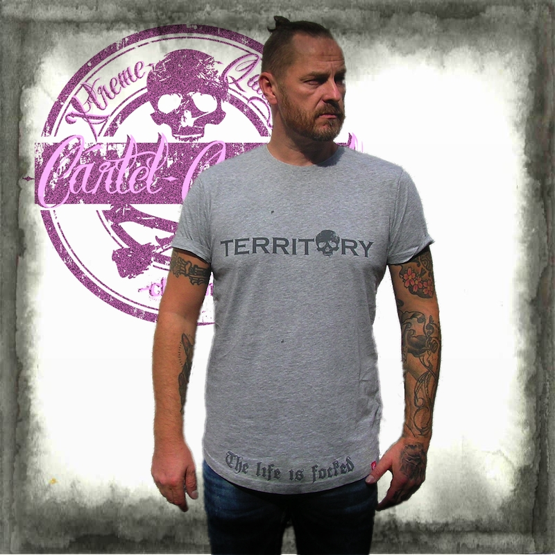 TERRITORY Heather longline Tshirt