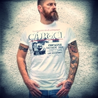 COCAINA White t-shirt